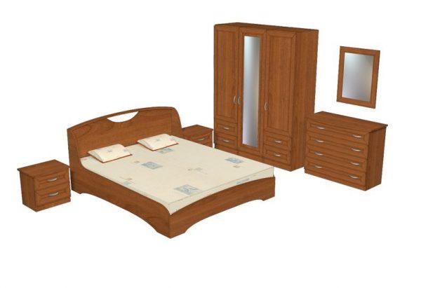 Спално обзавеждане Веселина с МДФ пофили