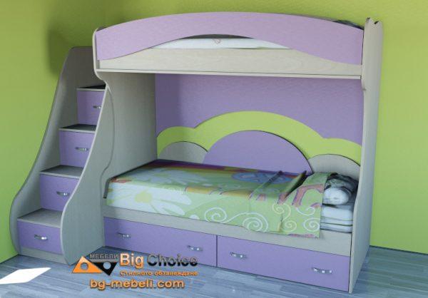 Двуетажно легло Симона D-0026