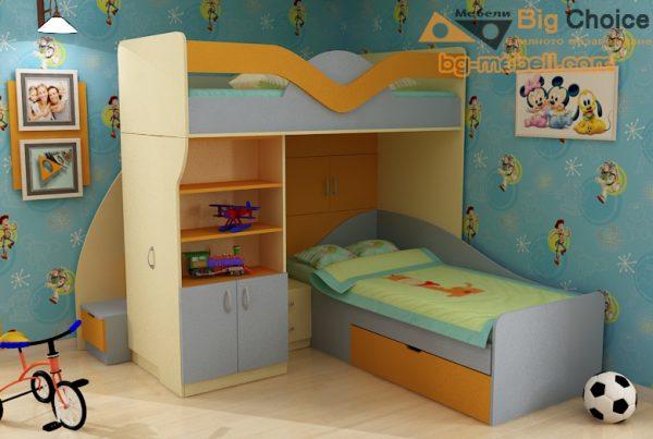 Двуетажно легло за момчета Влади и Краси D-0034