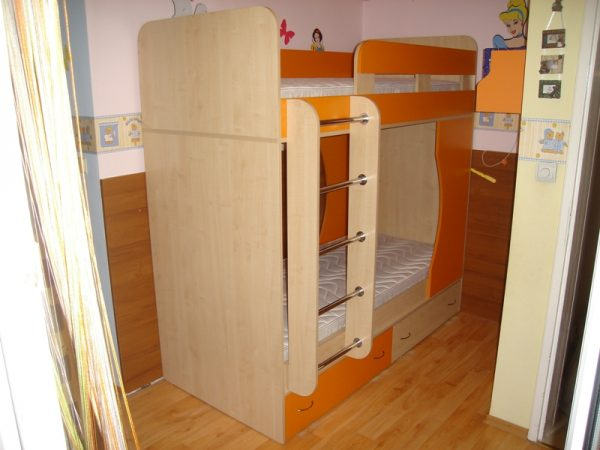 Легло на два етажа Барли D-0011