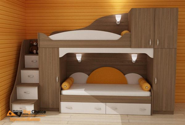 Юношеско двуетажно легло D-0047